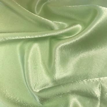 Apple Green Crepe Satin